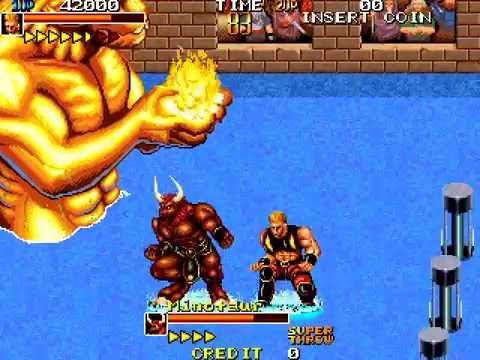 Arcade Longplay [586] Mutant Fighter