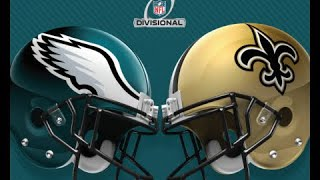 NFL Live Stream: Philadelphia Eagles Vs New Orleans Saints (Live Reaction & Play By Play)