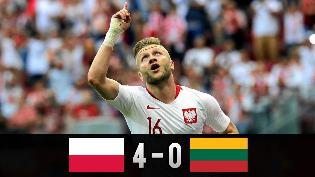 Polska - Litwa 4-0 | Skrót meczu 12.06.2018 PL Komentarz [HD]