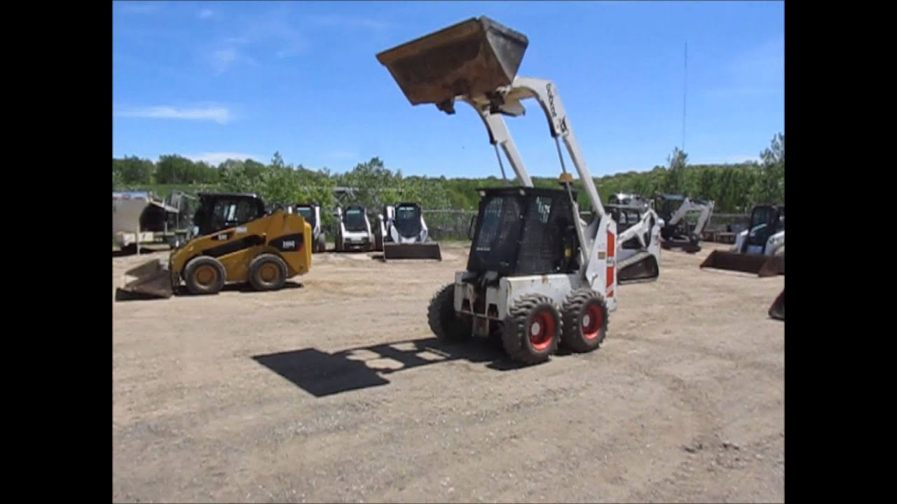 Array - 1985 bobcat 843 skid steer for sale   sold at auction june 26 2014  rh   youtube com