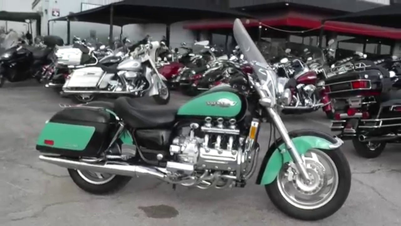 101738 - 1998 Honda Valkyrie - Used Motorcycle For Sale - YouTube