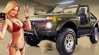 Пляжная НИВА за миллион! Выкинь крышу и двери - тюнинг Lada Niva #ДорогоБогато №71 (Лада 4х4 2020)