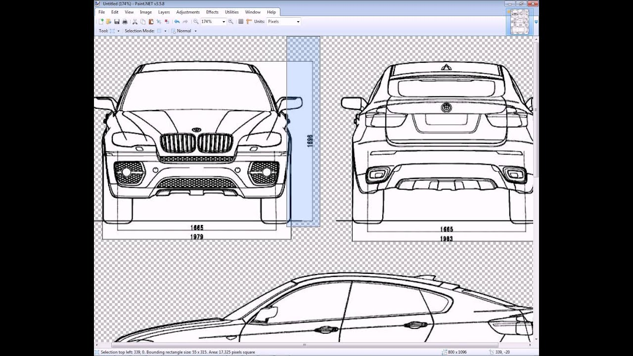 How to model a car in 3DS MAX - 1 Intro and Preparing the blueprints ...