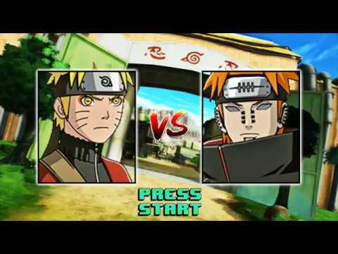 Mugen Naruto - Nauto vs Pain