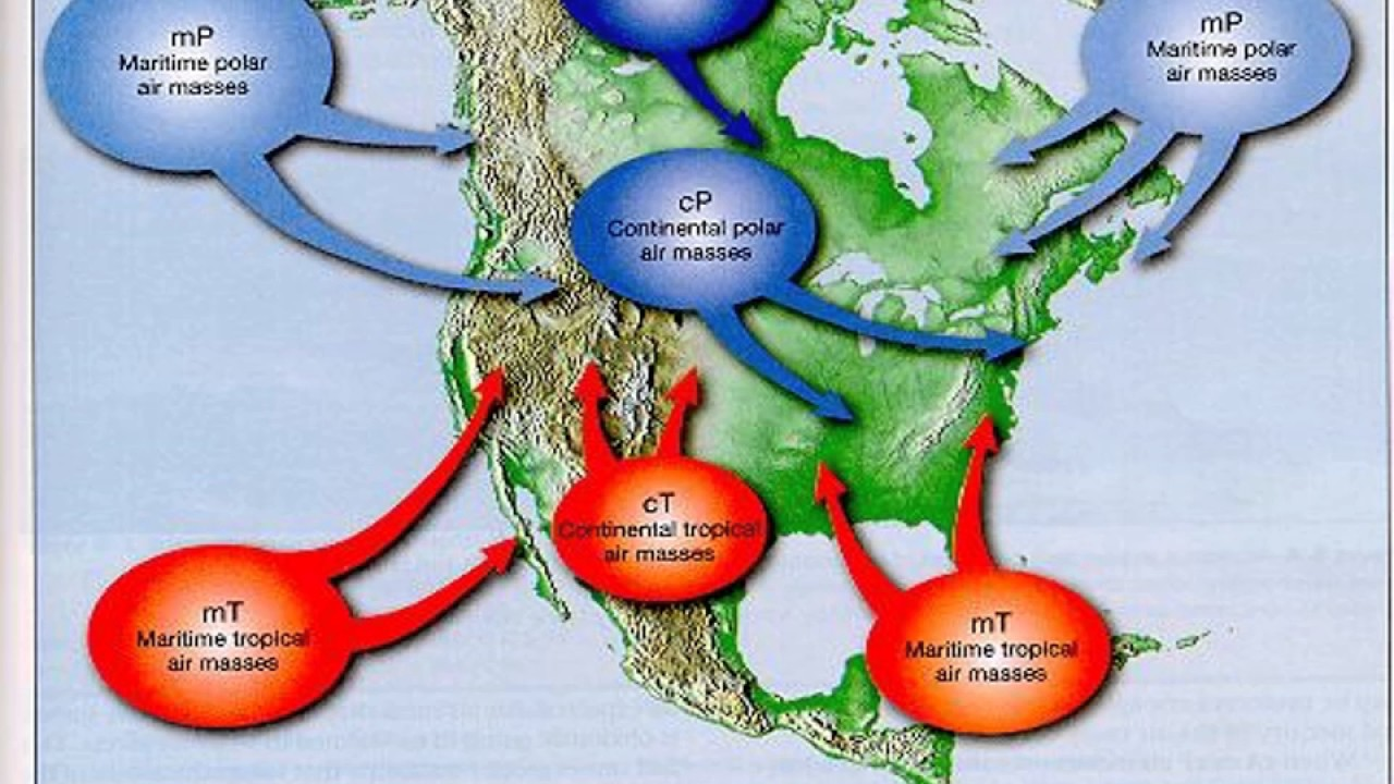 Air Masses and Fronts - YouTube