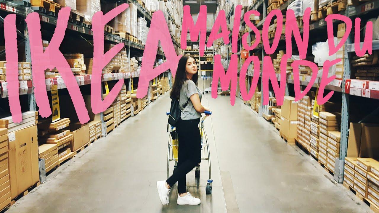 IKEA & MAISON DU MONDE - Haul Decoración |Eynin24 - YouTube