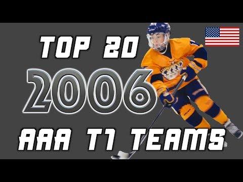 2006: Top 20 AAA (Tier 1) Teams
