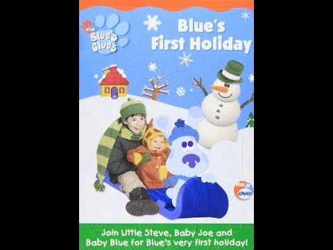 to Blue's Clues  Blue's First Holiday 2003 DVD