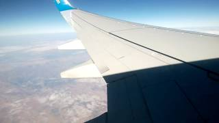 Вид во время полета