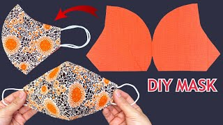 Very Easy New Style Mask Diy Breathable Face Mask Sewing Tutorial How to Face Mask Making Ideas