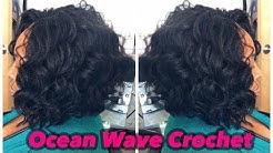 Flawless Kima Ocean Wave Crochet Install