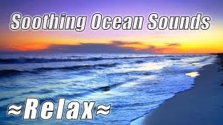 """WAVE SOUNDS"" for studying on the Beach Relaxing video HD ocean sounds 1080p Beautiful Nature Study"