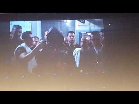 David Haye ring entrance versus Tony Bellew