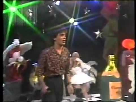 Conrado no Milk Shake da Tv Manchete - 1989