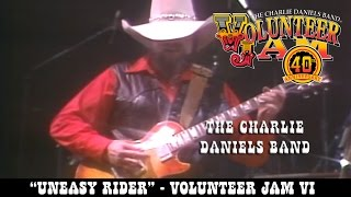 The Charlie Daniels Band - Uneasy Rider - Volunteer Jam VI
