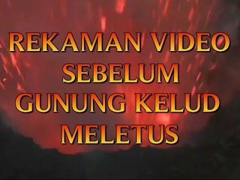 Video Sebelum Gunung Kelud Meletus Rekaman Jawa Timur 2014 Gambar