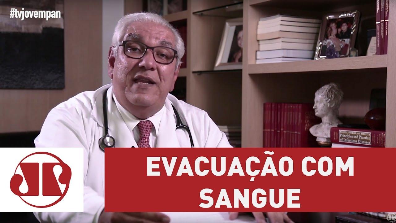 Evacuação com sangue; entenda qual pode ser o problema | Dr. Salim