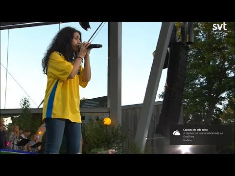 Alessia Cara - Scars To Your Beautiful (live @ Allsång på Skansen 2018)