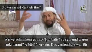 "Sh. Muhammad Musa ash-Sharif | Hanafis und ""Albanis"""