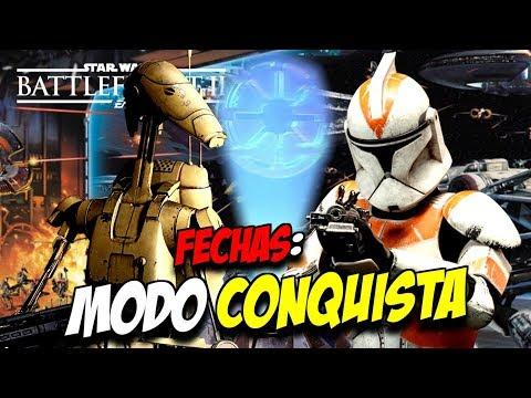 LANZAMIENTO del MODO CONQUISTA y EVENTOS de MARZO en STAR WARS BATTLEFRONT 2 thumbnail