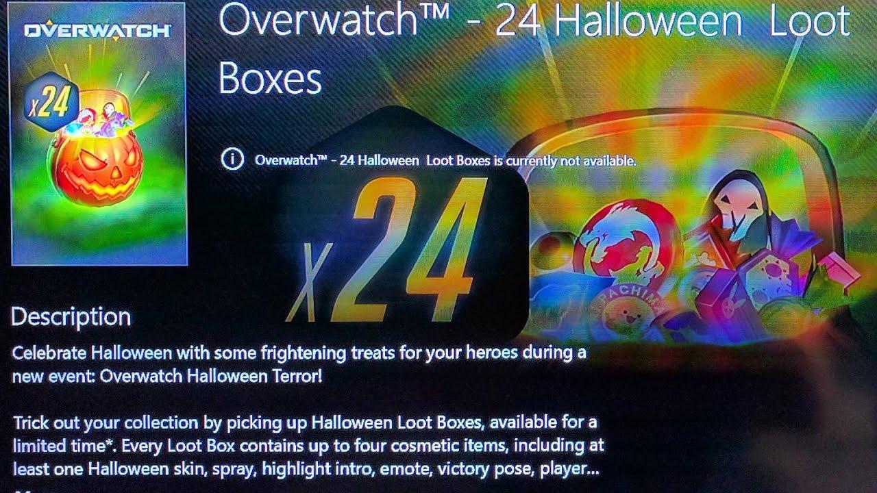 UPCOMING] HALLOWEEN LOOT BOXES CONFIRMED! (Overwatch Halloween ...