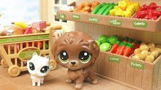 Minişler Süpermarkette