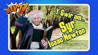 Y Gwir am Syr Isaac Newton ar Boom! | Welsh Sir Isaac Newton Sketch