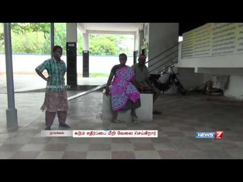 Namakkal woman makes a living at electrical crematorium | Tamil Nadu | News7 Tamil