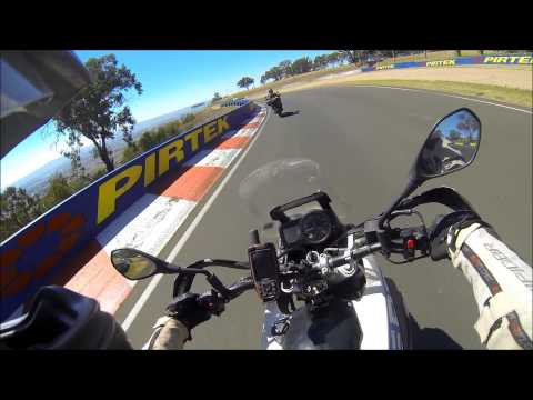 Mt Panorama  Adventure bike SLOW tour of the famous race track