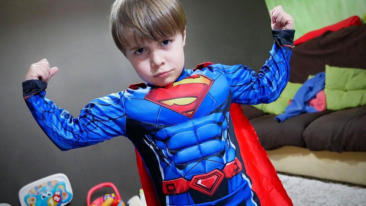 MAIKITO VIROU O SUPERMAN!! Fantasia do Super-Homem para Crianças no Carnaval