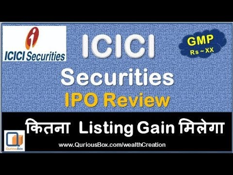 Icici securities ltd ipo gmp