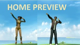 playstation home epic moves 2 dance pack 1 full preview