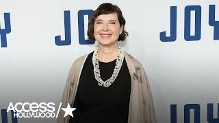Isabella Rossellini On How Modeling Has Changed Over The Years | Access Hollywood