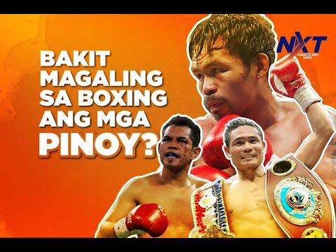 Bakit sadyang magaling sa boxing si Pacquiao at ang lahing Pilipino?