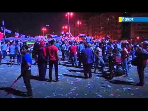 Millions take to the streets in Cairo calling on Islamist President Mohammed Morsi to resign