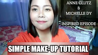 SIMPLE MAKE-UP TUTORIAL + KULITAN | Beauty & Lifestyle