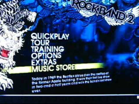 Rock Band 2 Wii Music Store - How To Buy Downloadable Content Overview