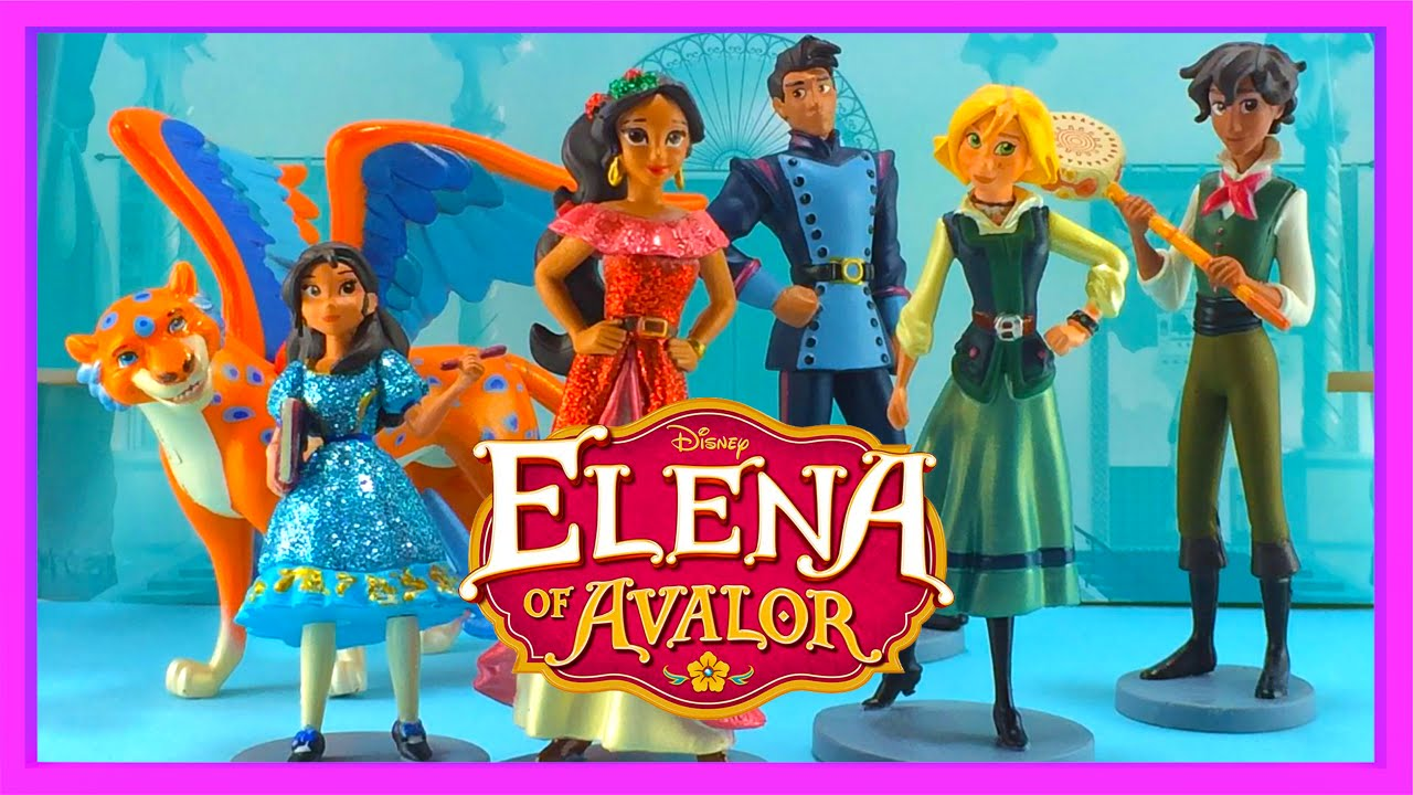 Toys Elena Sofia : Elena of avalor toy figure set review new disney princess