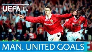 Giggs Beckham Rooney 10 great Man United goals