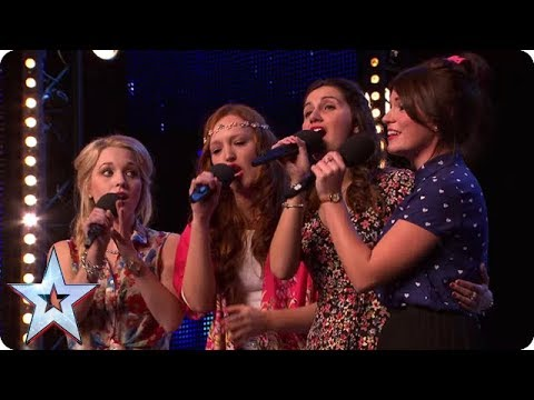 Check Out BGTs Very Own CARTOON PRINCESSES | Britains Got Talent