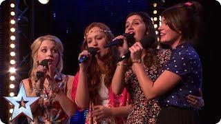 Check Out BGT's Very Own CARTOON PRINCESSES | Britain's Got Talent