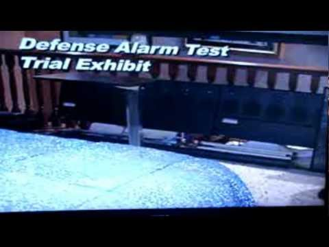 Larry Nimmer's test of MJ's bedroom alarms
