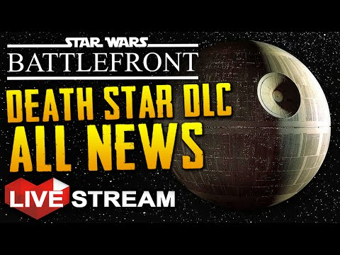 Star Wars Battlefront: Death Star DLC | All We Know + ROGUE ONE NEWS | Live Stream