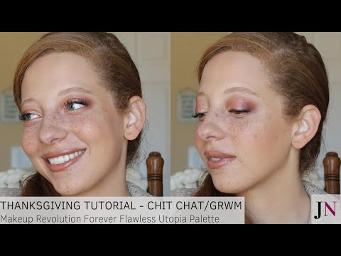 Thanksgiving Tutorial - Chit Chat/GRWM thumbnail