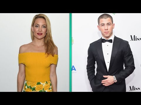 Nick Jonas Date Night With Kate Hudson?! from YouTube · Duration:  2 minutes 15 seconds