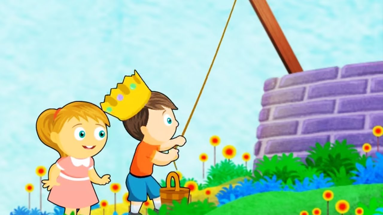 Jack And Jill Nursery Rhyme Hooplakidz Tv You