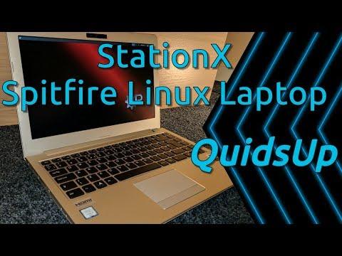 StationX - Spitfire Linux Laptop Review