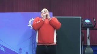Дыхательная техника при выполнении толчка в гиревом спорте от Сергея Мишина