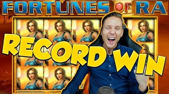 RECORD WIN!! FORTUNES OF RA BIG WIN - Casino Games -  Online slots