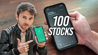 My 100 Stock Portfolio - Robinhood